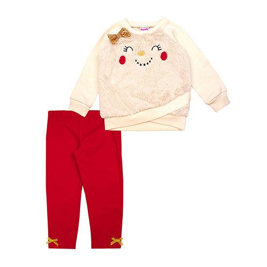 Nannette Baby-Toddler Girls 2-pc. Legging Set
