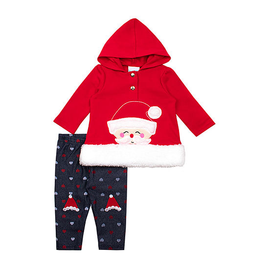 Nannette Baby-Toddler Girls 2-pc. Legging Set