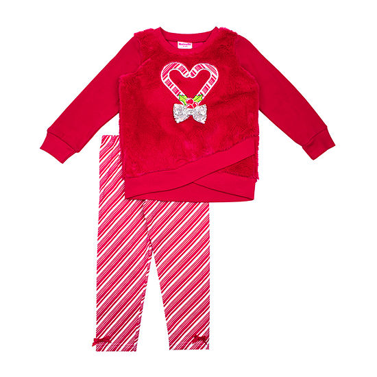 Nannette Baby Toddler Girls 2-pc. Legging Set