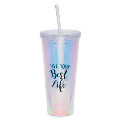 Mixit Pamper Party Holographic Tumbler