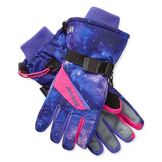 WinterProof Girls Cold Weather Gloves Preschool / Big Kid