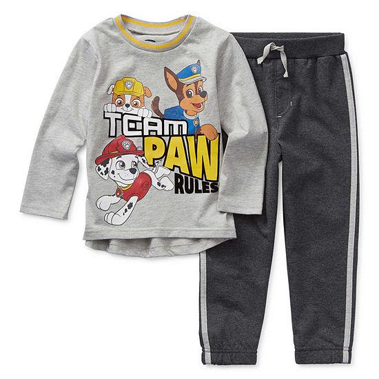 Nickelodeon Boys 2-pc. Paw Patrol Short Set Toddler