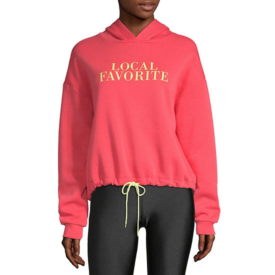 Flirtitude-Juniors Womens Long Sleeve Knit Hoodie