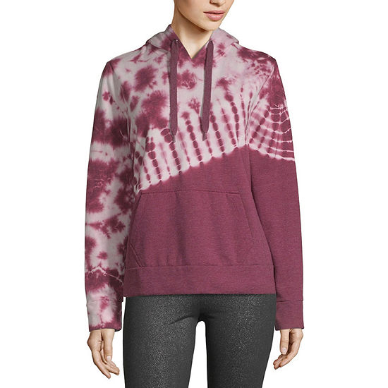 Flirtitude-Juniors Womens Long Sleeve Fleece Hoodie