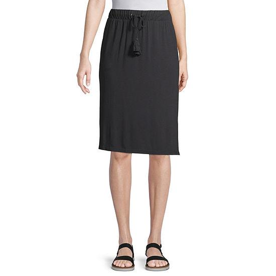 St. John's Bay Womens Knit Skirt