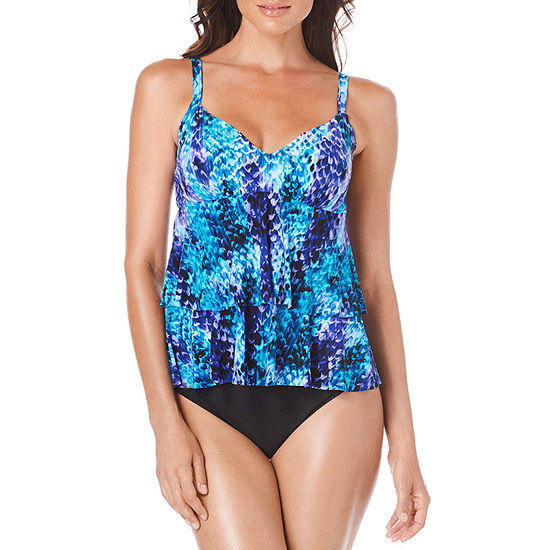Trimshaper Control Animal Tankini Swimsuit Top or Swimsuit Bottom