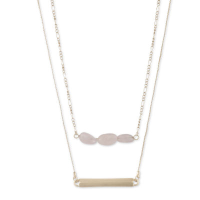 a.n.a 18 Inch Box Collar Necklace