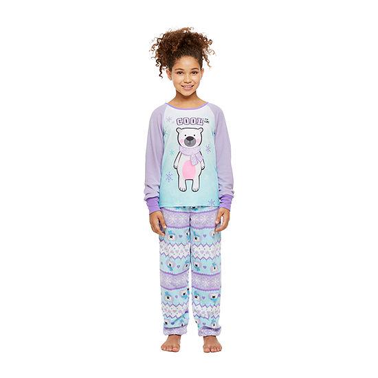 Jelli Fish Kids Big Girls 2-pc. Pant Pajama Set