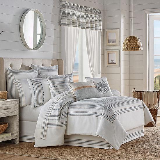 Queen Street William 4-pc. Stripes Heavyweight Comforter Set