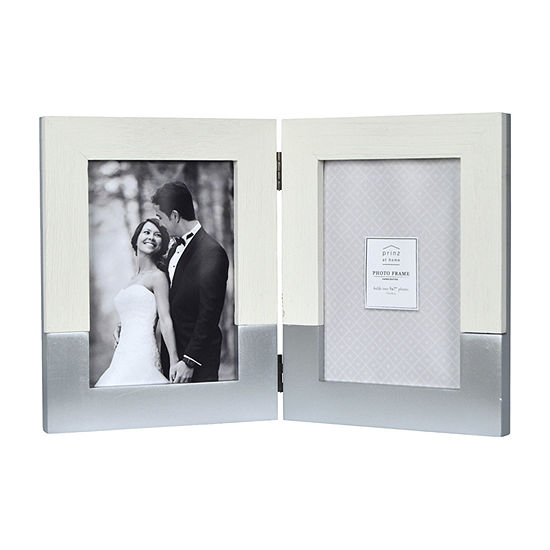 New View Metallic 2 Tone Hinged Tabletop Frame