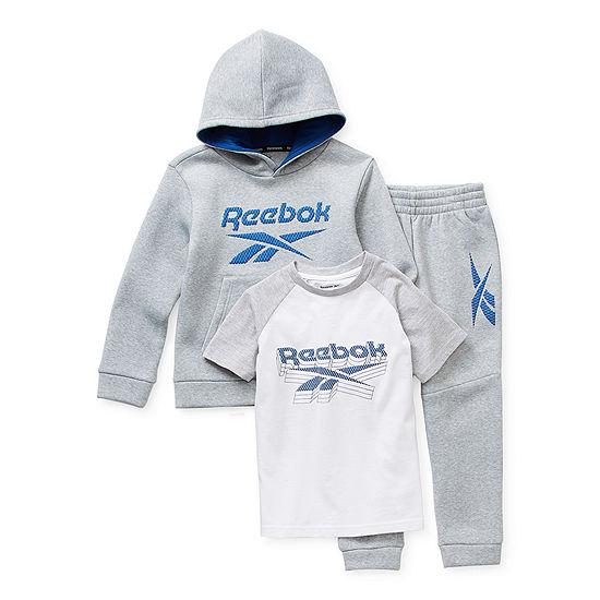 Reebok Little Boys 3-pc. Pant Set
