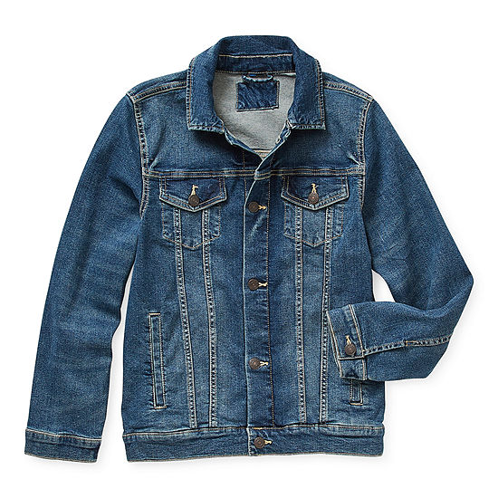 Arizona Little & Big Boys Denim Jacket