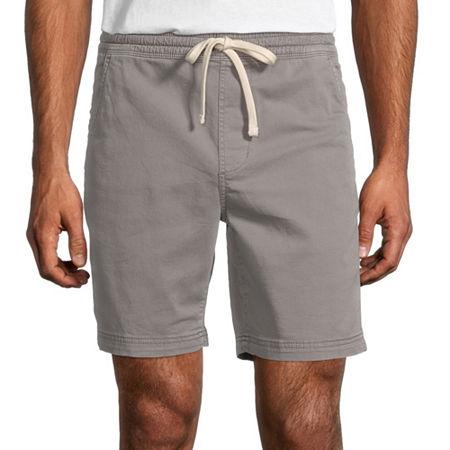 Arizona Flex Mens Jogger Short, Large , Gray