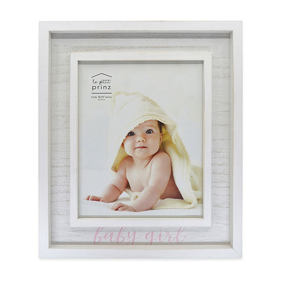 New View Weathered Baby Girl Tabletop Frame