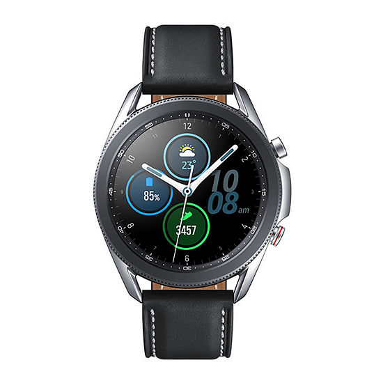 Samsung Galaxy 3 LTE Black Leather Smart Watch-Sm-R845uzsaxar
