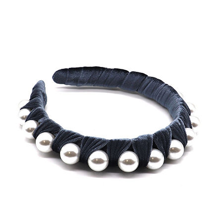 Mixit Blue Headband, One Size , Blue