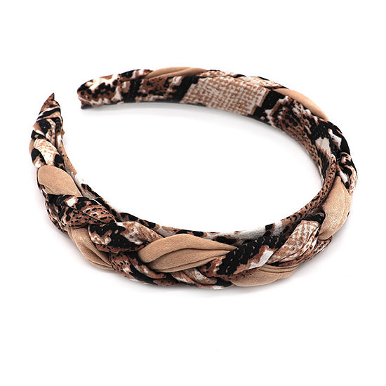 Mixit Animal Print Braided Headband
