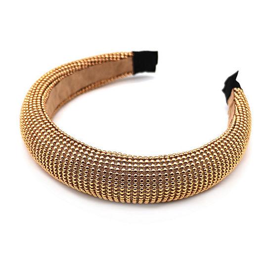 Mixit Gold Beaded Headband