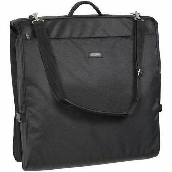 """WallyBags® 45"""" Framed Garment Bag with Shoulder Strap"""