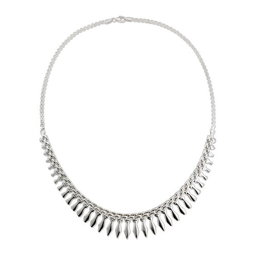Sterling Silver Cleopatra Necklace