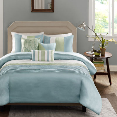 Madison Park Chester Colorblock 6-pc. Duvet Cover Set