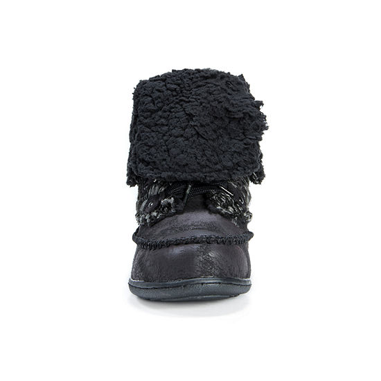 Muk Luks Womens Lilly Water Resistant Winter Boots Flat Heel