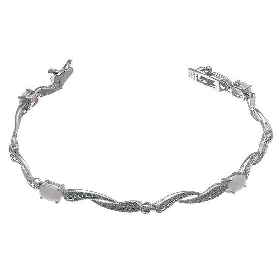 Sterling Silver 725 Inch Solid Link Link Bracelet