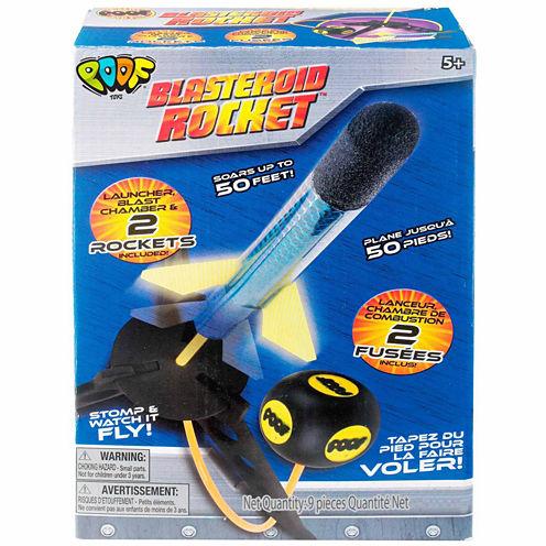 Poof Blasteroid Rocket 2-pc. Combo Game Set