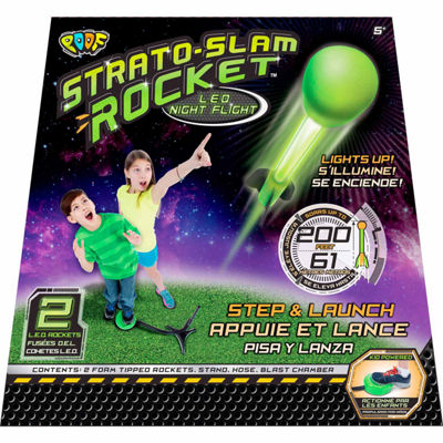 Poof Strato Slam Rocket Led Night Flight 4-pc. Combo Game Set