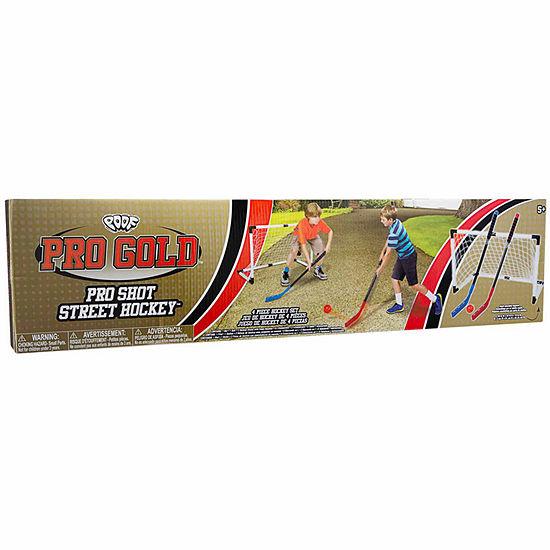 Poof Pro Gold Pro Shot Street Hockey 4-pc. Combo Game Set