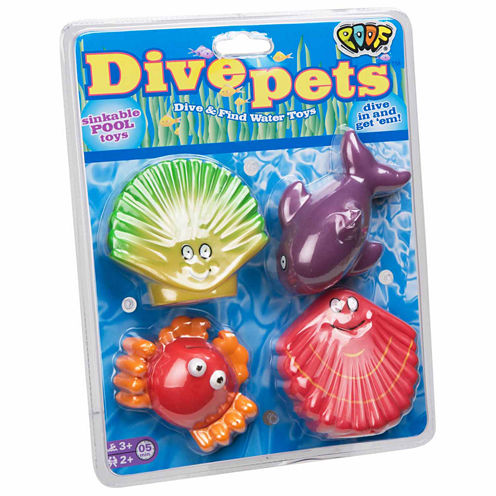 Poof Dive Pets 4-pc. Combo Game Set
