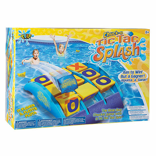 Poof Chuck-O Tic Tac Splash Toss 7-pc. Target Toss Set