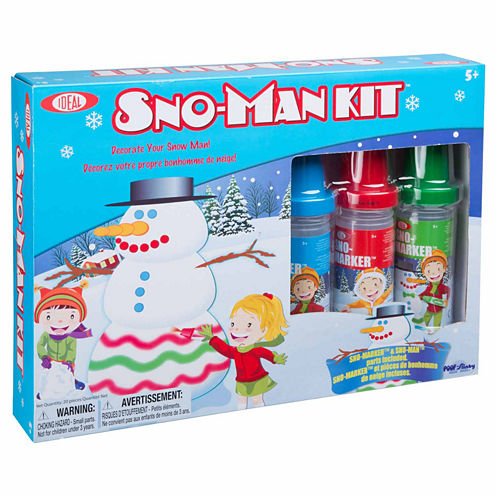 Ideal Sno-Marker Sno-Man 20-pc. Combo Game Set
