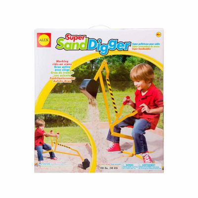 Alex Toys Active Play Super Sand Digger 17-pc. Combo Game Set