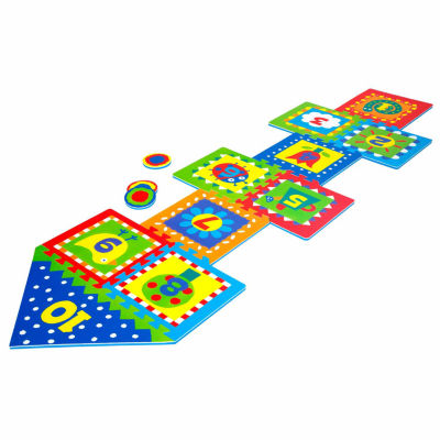 Alex Toys Hopscotch W/Snap Together Boards 14-pc. Combo Game Set
