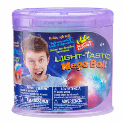 Scientific Explorer Light Tastic Megaball 6-pc. Discovery Toy