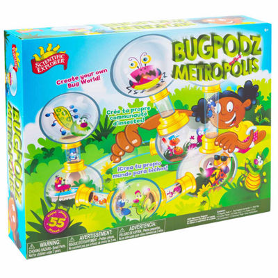 Scientific Explorer Bugpodz Metropolis Discovery Toy