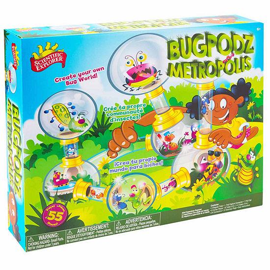 Scientific Explorer Bugpodz Metropolis Discovery Toy