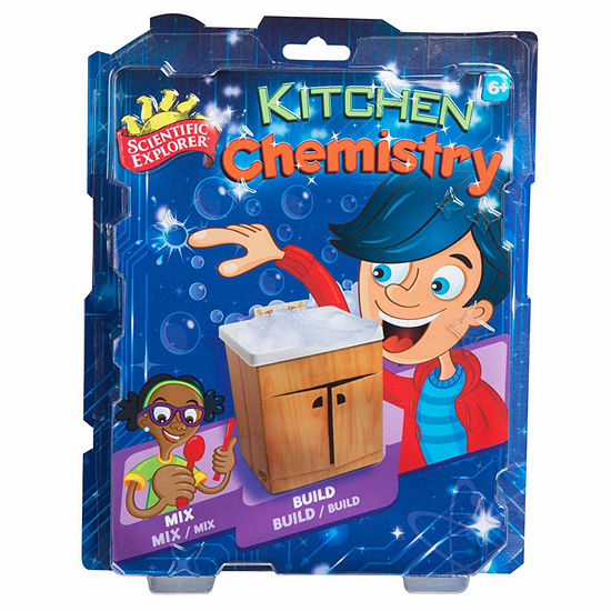 Scientific Explorer Kitchen Chemistry Kit 13 Pc Discovery Toy