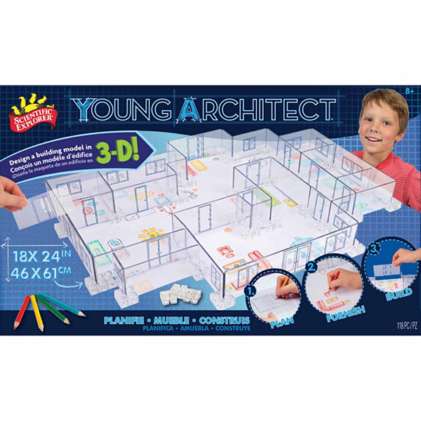 Scientific Explorer Young Architect Building Set Discovery Toy