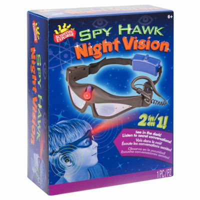 Scientific Explorer Spyhawk Night Vision Goggles Discovery Toy