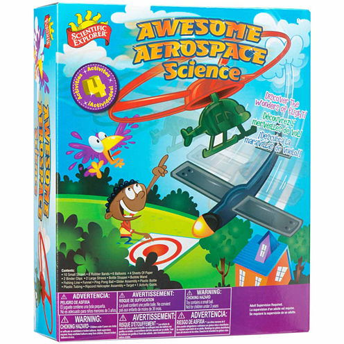 Scientific Explorer Awesome Aerospace Science Kit 42-pc. Discovery Toy