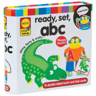 ALEX TOYS Little Hands Touch And Feel Flash Cards Abc 13-pc. Interactive Toy - Unisex