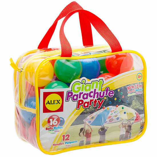 ALEX TOYS Active Play Giant Parachute Party Play Tent
