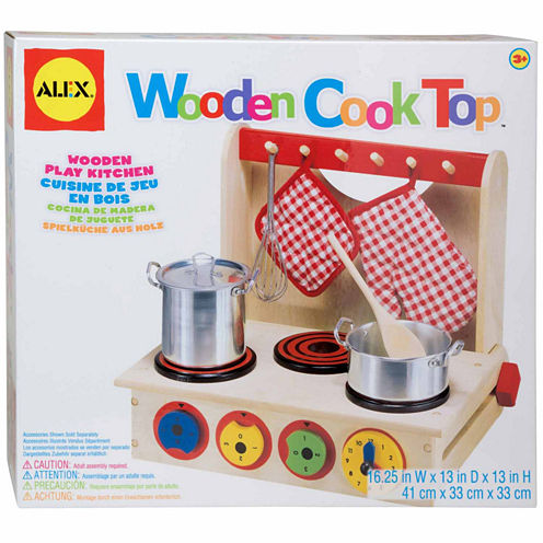 Alex Toys Wooden Cook Top Play Kitchen