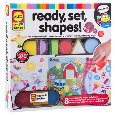 ALEX TOYS Little Hands Ready Set Shapes Interactive Toy - Unisex