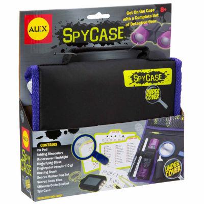 Alex Toys Undercover Spycase Detective Gearset 10-pc. Spy Toy