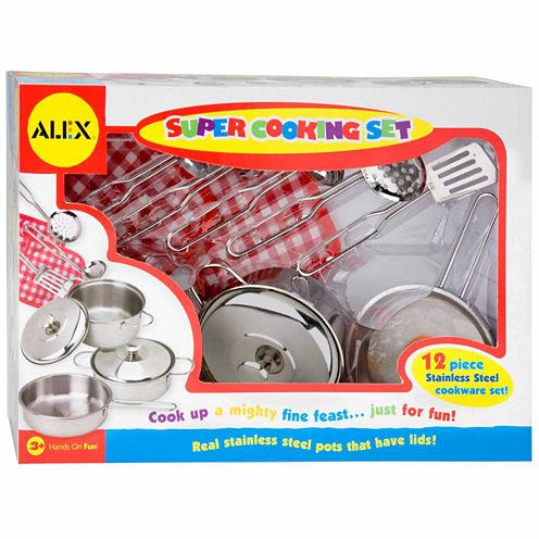 Alex Toys Super Cooking Set 12-pc. Play Kitchen