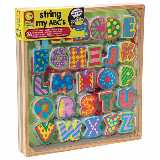 Alex Toys Little Hands String My Abcs Discovery Toy