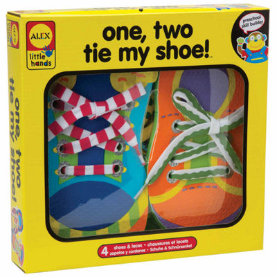 ALEX TOYS Little Hands 1 2 Tie My Shoe 9-pc. Interactive Toy - Unisex
